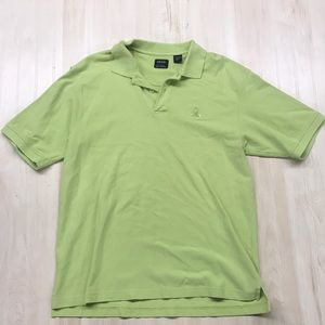Izod men's green polo size L like new